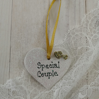 Small Ceramic Heart - Special Couple
