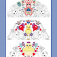 Colouring pages, 3 A4 Mandala's, Easter Design Images, Fun, Hand Drawn