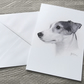A5 Jack Russell Terrier Card - Blank Card, Notelet, Thinking of you, Thank you