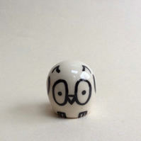 Little handmade pottery owl.