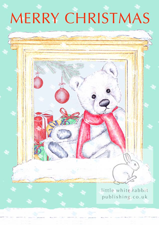 Chilly counting the snowflakes - Christmas Card