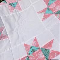 Friendship Star Child's quilt