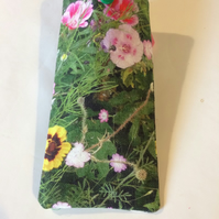 Soft Glasses case Wild flowers