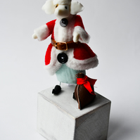 Kathryn Ashcroft Father Christmouse Limited Edition sculpture 3 of 8