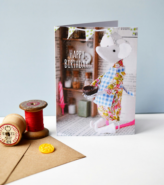 Kathryn Ashcroft Cake Thief Birthday card