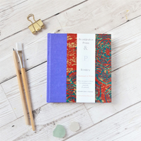 Mandala Print Watercolour Sketchbook or Journal with Fabriano Paper