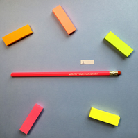SLIGHT SECONDS SALE Write Your Own Story Pencil 2