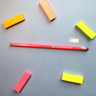 SLIGHT SECONDS SALE Write Your Own Story Pencil 10