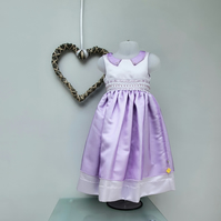 2 years Girl Occasion 'Isabella' Dress. Child Party Dress. Flower Girl Dress