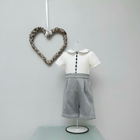 12-18 month Baby Boy Buster Suit, Infant Wedding Wear, Child Party Outfit.