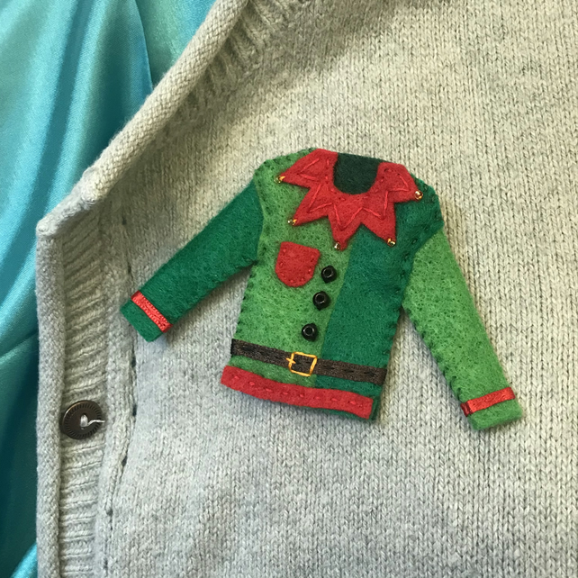 Elf Jumper Brooch