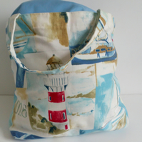 Shopping bag, cloth bag, fabric bag, tote bag, grocery bag, ships