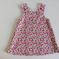18-24 months, Needlecord A line dress, pinafore, dress, pink