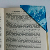 Corner bookmark,  bookmark, stocking filler, gift for xmas, music, book lover