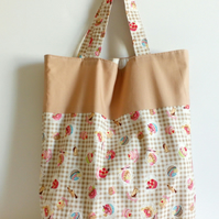 Tote bag, Shopping bag, cloth bag, fabric bag, grocery bag, cupcakes