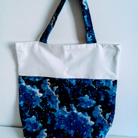 Shopping bag, cloth bag, fabric bag, tote bag, grocery bag, galaxy, space