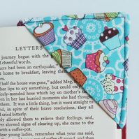 Corner bookmark, bookmark, pocket money gift, teacher, book lover