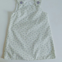 Age 2 years, Summer dress, A line dress, pinafore, lilac,  floral dress