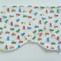 Burp cloth, Tractor design, baby burp cloth, baby accessories, nursery, new baby