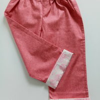 18 months, Toddlers, Summer Trousers, Girls, Cotton Trousers, Summer clothes