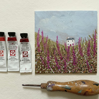 Foxglove Meadow, Original painting
