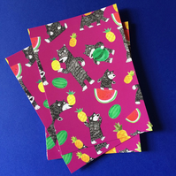 Bear Fruit Postcard by Jo Brown with free postage UK