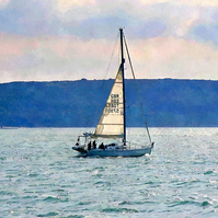 Sailing On The Solent