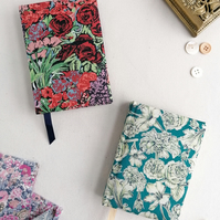 NEW! A6 vintage Liberty fabric 2021 Diaries. Day to view