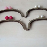 4 Antique Arched sew in Bubble clip frames