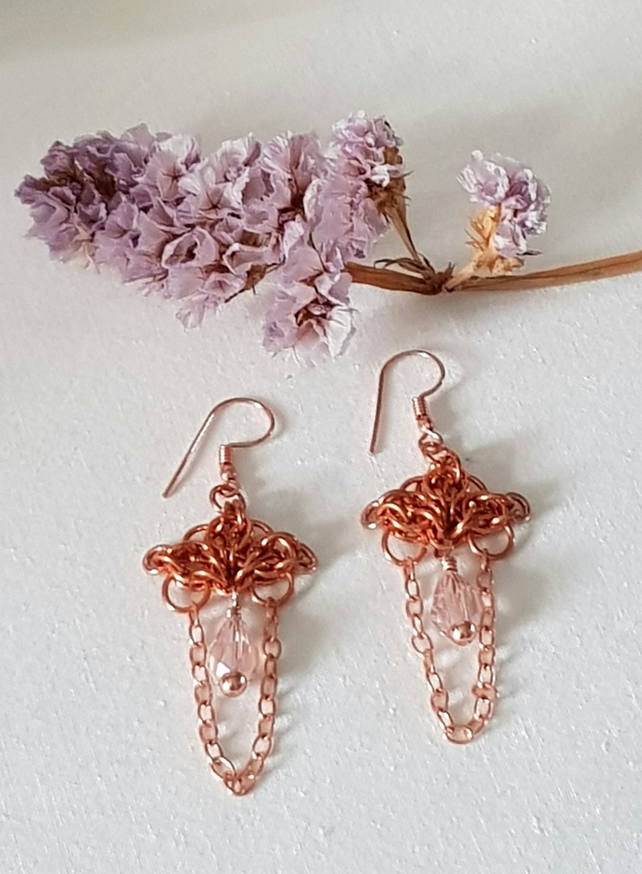 Enchantress Chainmaille Earrings