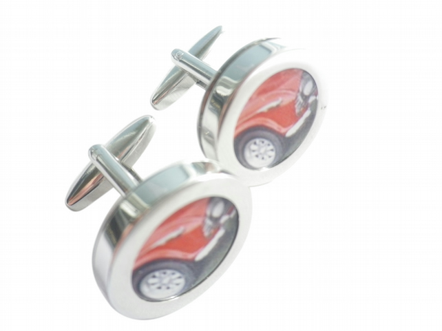 1962 Triumph TR6 cufflinks, robust, fast, stylish, 60s icon,free UK shipping
