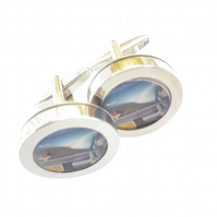 Aston Martin cufflinks, original James Bond, free UK shipping......