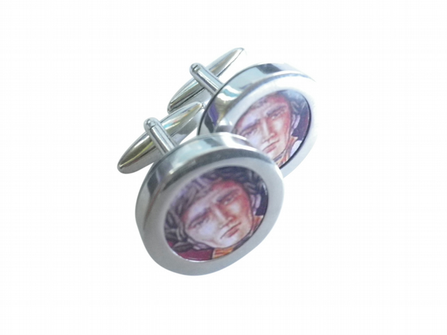 Captain of Justice and Integrity cuff links, a pivotal role in turbulent times,
