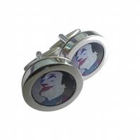 The Joker cufflinks, great dramatic image for that special person or occasion