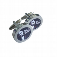 The Godfather cufflinks, iconic Marlon Brando Martin Scorsese movie.....