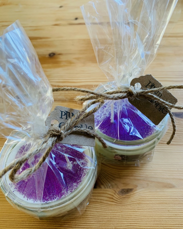 Plum Crumble Recycled Jar Candle