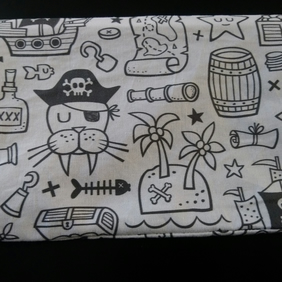 Colour in your own Pirate Pencil Case