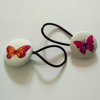 Butterfly Design Hair Bobble Hair Bands