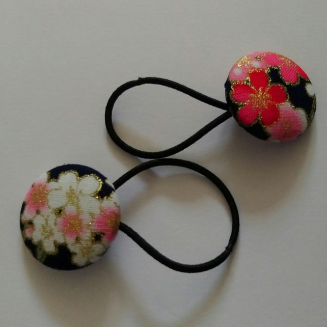 Floral Design Hair Bobble Hair Bands