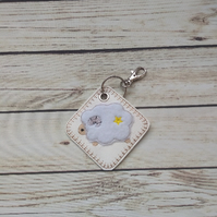 Aries keyring, Aries star sign gift