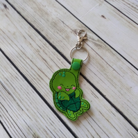 Cute sea turtle keyring