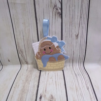 New born baby gifts, baby shower gifts, baby boy gingerbread