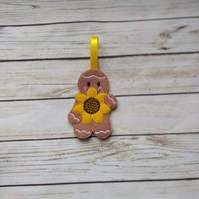 Sunflower Gingerbread decoration - fridge magnet - keyring