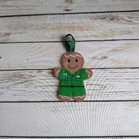 Paramedic gift, Gift for NHS paramedic - fridge magnet - keyring - decoration