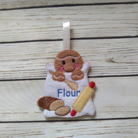 Baker Gingerbread man, Baking Christmas gift, baker's gift