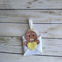 New born baby gifts, baby shower gifts, personalised baby gift, baby gingerbread