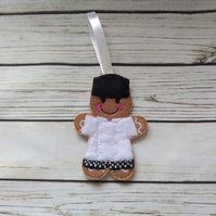 Chef Gingerbread man, Chef gift, Chef Christmas tree decoration