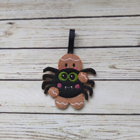 Halloween Spider Gingerbread decoration - fridge Magnet