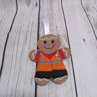Postman post lady Gingerbread, Post Office Gifts, Royal Mail Gift