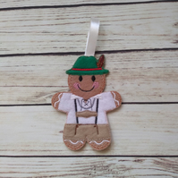 Gingerbread Oktoberfest decorations - fridge magnets, Oktoberfest Xmas decor